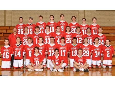 2019 Boys Varsity Lacrosse Team