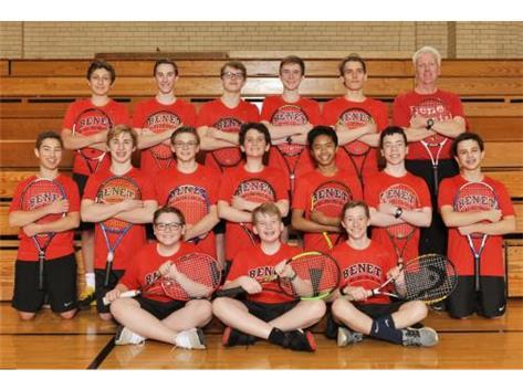 2019 Boys Frosh/Soph Tennis Team