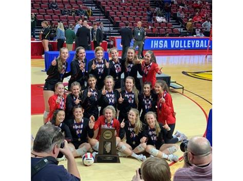 2019 Girls Volleyball Class 4A STATE CHAMPIONS!