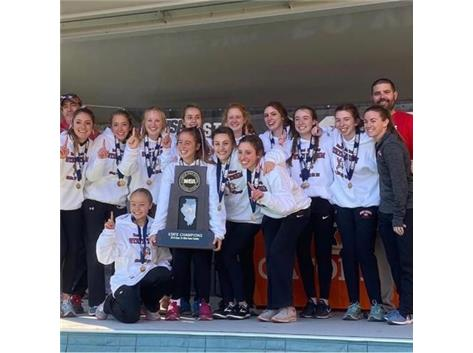 2019 Girls Cross Country Class 2A STATE CHAMPIONS