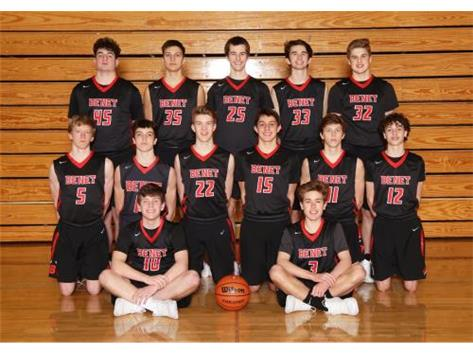 2019 - 2020 Boys Sophomore Basketball Team
