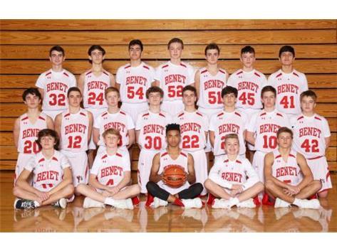 2019 - 2020 Boys Freshmen Basketball Team