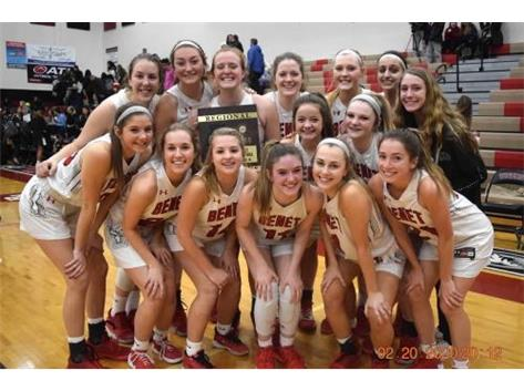 2019-2020 Girls Basketball 4A Regional Champions