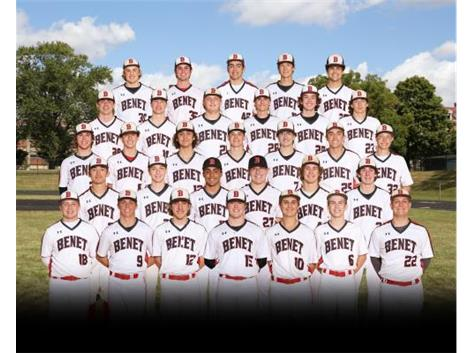 2021 Varsity Baseball Team