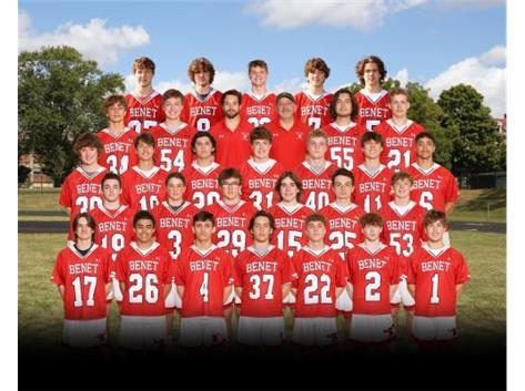 2021 Varsity Lacrosse Team
