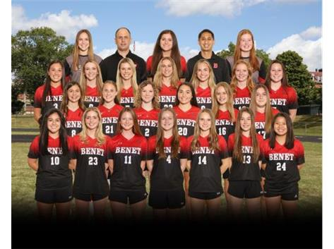 2021 Varsity Girls Soccer Team 2021 ESCC Champions!