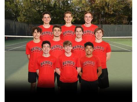 2021 Varsity Tennis Team