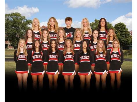 2021-2022 Varsity Cheer Team