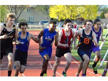Amitai is starting the 4x800m relay.  Sharpen your elbows when the competition heats up.