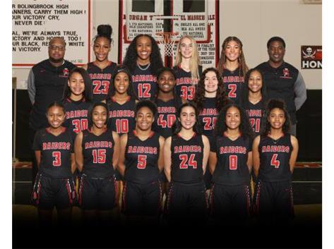 2021 Girls Varsity Basketball Team