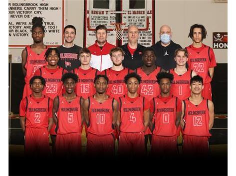 2021 Boys Varsity Basketball Team
