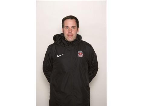 Coach Nick Trotter