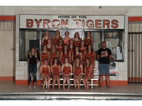 Byron schools girls swimming and diving activities for United township high school swimming pool