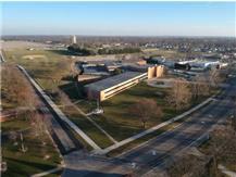 Canton High School aerial view