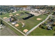 Canton High School football stadium and baseball/softball diamonds