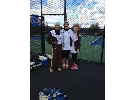Kannenberg,Felicelli&Christina Rao IHSA State Qualifiers - Tennis