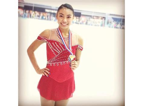 Jizelle Bacani, Sr. -Silver Medalist 2013 Phillipine National Championships