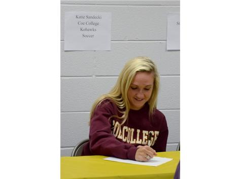 Spring Signing Day - Soccer