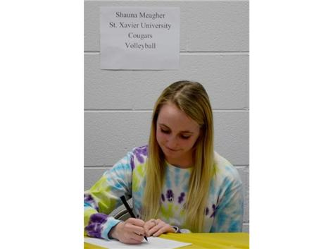 Spring Signing Day - Volleyball
