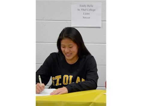 Spring Signing Day-Soccer