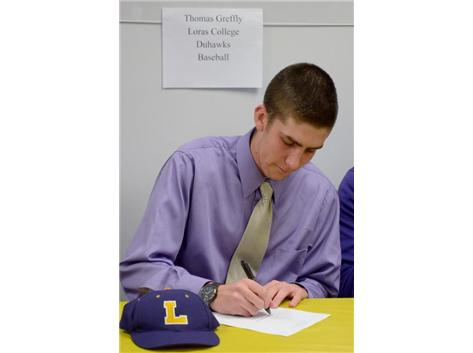 Spring Signing Day-Baseball