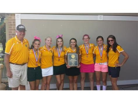2014 Undefeated ESCC Golf Champions!