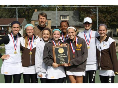 Congratulations to Varsity Girls Tennis - ESCC & IHSA SECTIONAL CHAMPS!