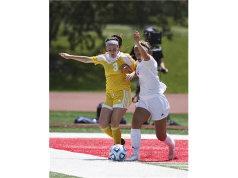 Erin Johnston scores only goal in State Championship game vs Chatham Glenwood!