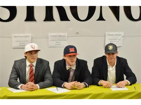 Matthew Collins, Cooper Johnson & Joe Santoro
