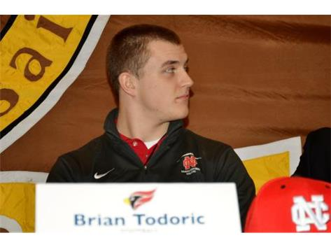 Brian Todoric signs Letter of Intent to play Football at North Central