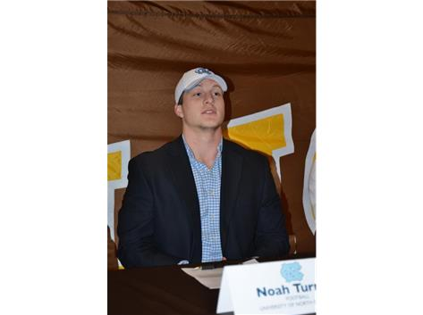 Noah Turner signs Letter of Intent to play Football at North Carolina