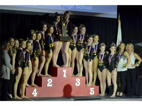 Congratulations Gymnastics!