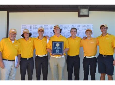 Congratulations to Varsity Golf - ESCC Champions