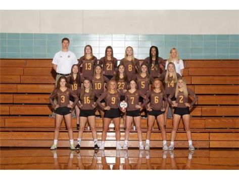 2018 Girls Varsity Volleyball