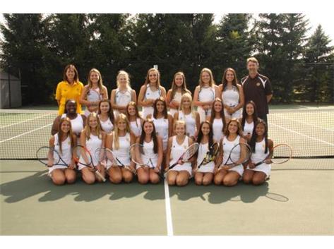 2018 V & JV Girls Tennis