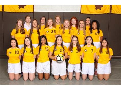 2018-19 Freshman Girls Soccer Team
