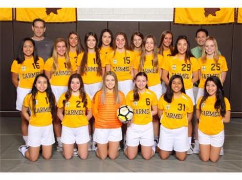 2018-19 JV Girls Soccer Team