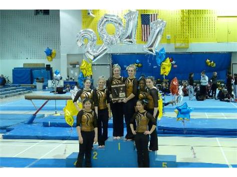 Carmel soared to their 9th consecutive Regional Crown with score of 149. 75