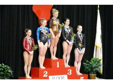 Kristin Mirski 2010-11 Floor X State Champ - 9.775
