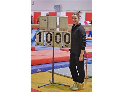 Lauren Feely Scores a Perfect 10 on Vault