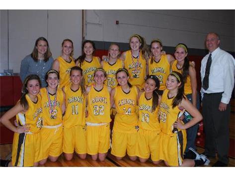 2012-13 Corsiar  Varsity Basketball
