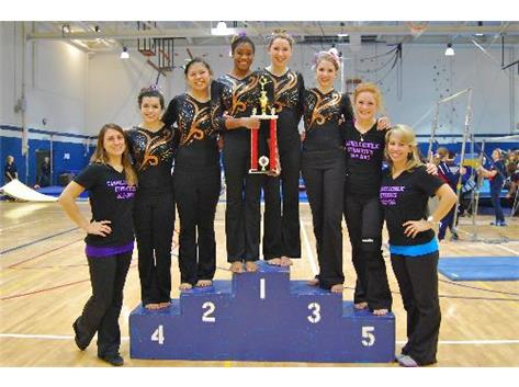 CONANT GYMNASTICS INVITE CHAMPS