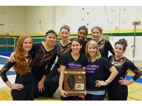 IHSA Regional Gymnastics Champs