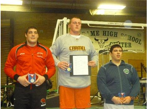 Jake Cochrane- 2012-13 ESCC Champ Reg&Sect Champ- 3rd  place State