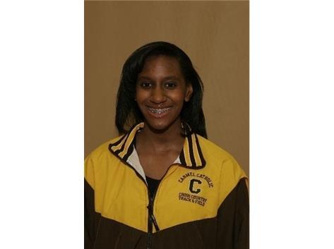 Hasana Huff 2013 ESCC Track Triple Jump Champion