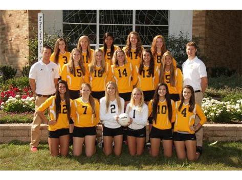 2013 Varsity Girls' Volleyball