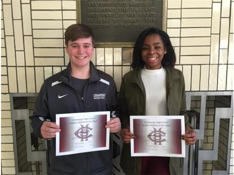 CHS Student-Athletes of the Week (November 24)