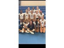 Girls Varsity Volleyball-Joliet West Invitational Tournament Champions!