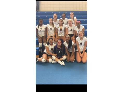Girls Varsity Volleyball-Joliet West Invitational Tournament Champions!
