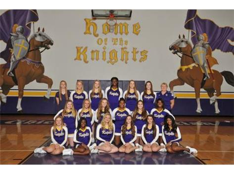 Girls Varsity Cheer 2017-2018